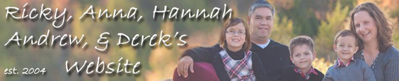 Ricky, Anna, Hannah & Drew's Website